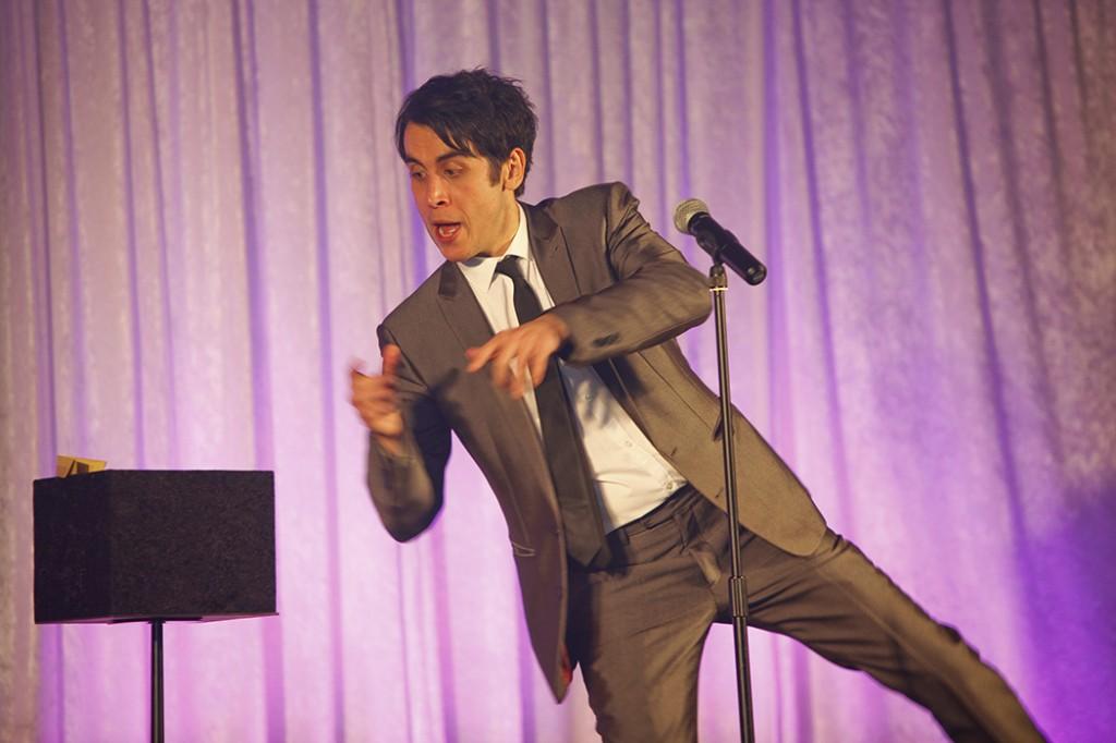 Pete Firman's comedy magic